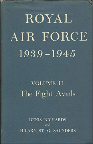 Royal Air Force, 1939-45 By D. Richards