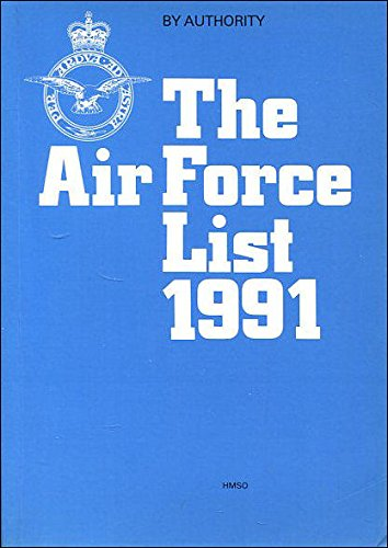 The Air Force List 1991 By Great Britain