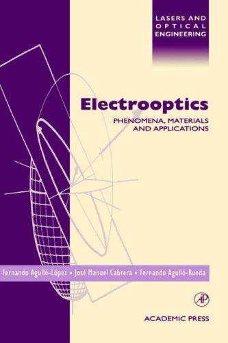 Electrooptics By Jose Manuel Cabrera (Universidad Autonoma de Madrid)