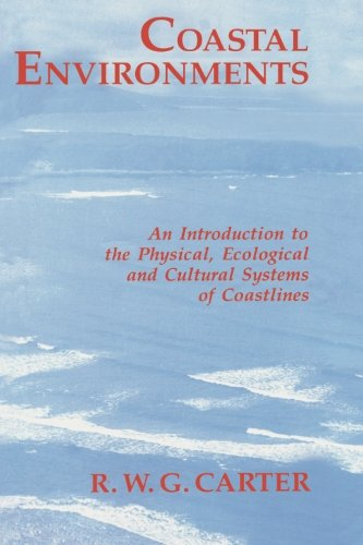 Coastal Environments By Edited by Bill Carter