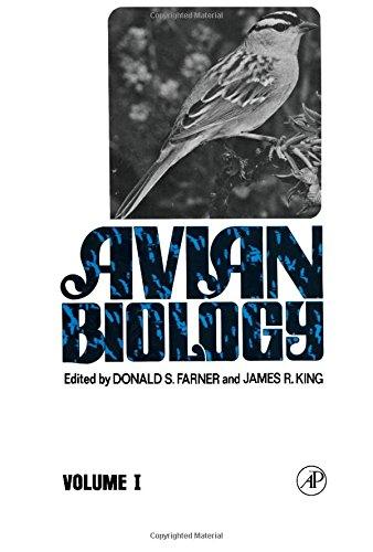 Avian Biology By Donald S. Farner