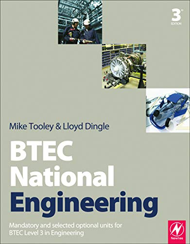 BTEC National Engineering, 3rd ed by Mike Tooley (former Vice Principal at Brooklands College, UK)