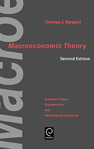 Macroeconomic Theory By Volume editor Thomas J. Sargent