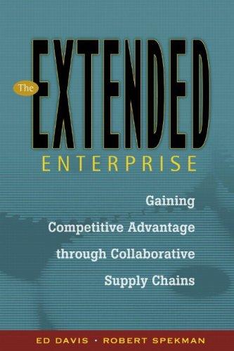The Extended Enterprise By Edward W. Davis