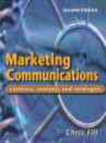 Marketing Communications By Chris Fill