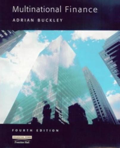 Multinational Finance By Adrian Buckley