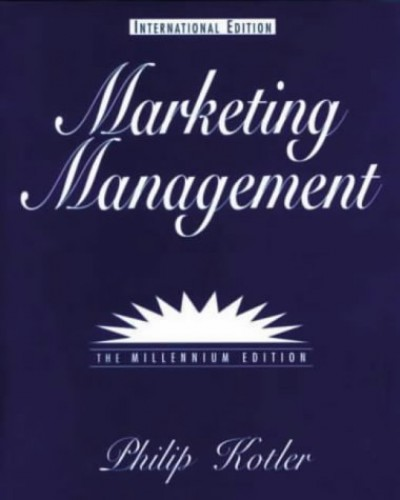 Marketing Management By Philip Kotler