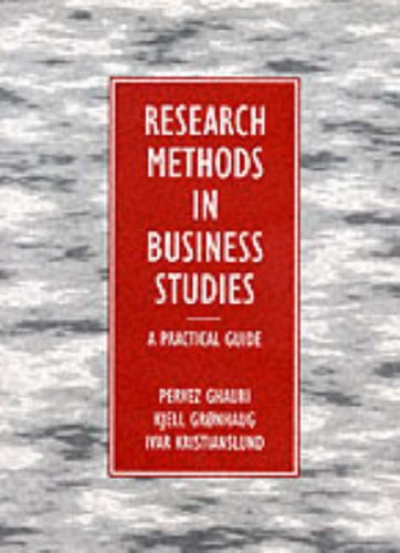 Research Business Studies By Pervez Ghauri