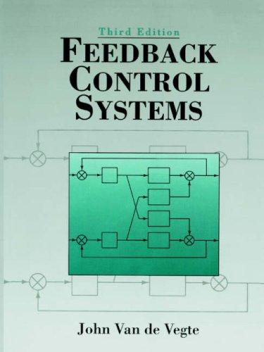 Feedback Control Systems By John Van De Vegte