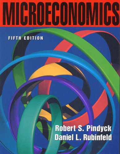 Microeconomics: United States Edition (Prentice-Hall Series in Economics) By Robert S. Pindyck