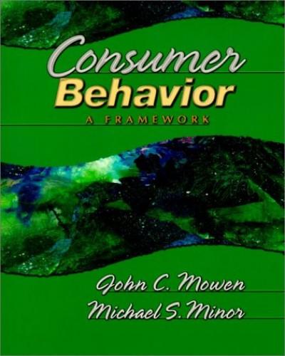 Consumer Behavior By John C. Mowen