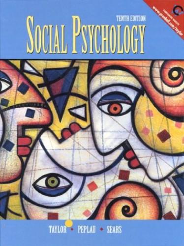 Social Psychology By Shelley E. Taylor