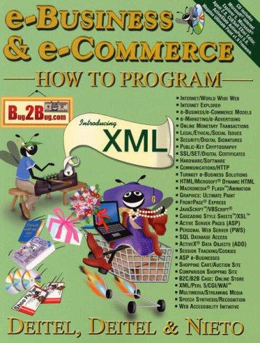 e-Business and e-Commerce How to Program By Harvey M. Deitel