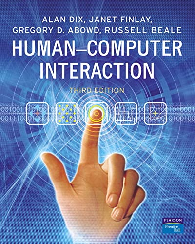 Human-Computer Interaction by Janet E. Finlay