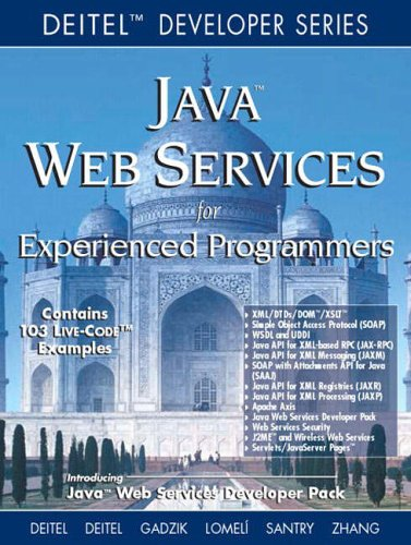Java Web Services For Experienced Programmers By Harvey M. Deitel