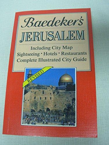 Baedeker'S Jerusalem By SONS