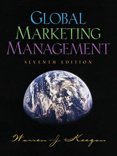Global Marketing Management By Warren J. Keegan