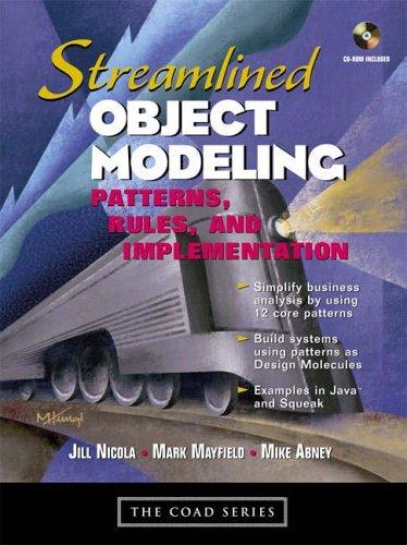 Streamlined Object Modeling By Jill Nicola