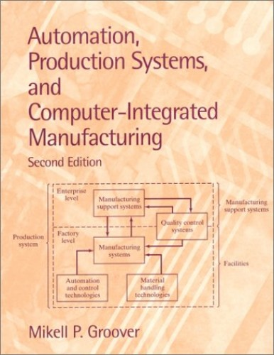 Automation, Production Systems, and Computer-Integrated Manufacturing By Mikell P. Groover