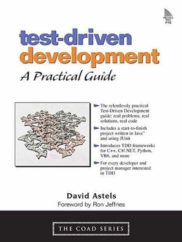 Test-Driven Development By David Astels