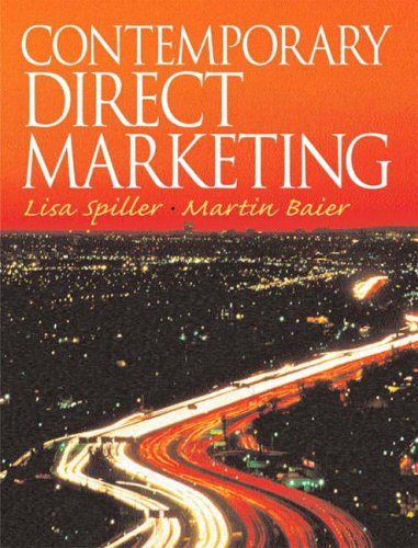 Contemporary Direct Marketing By Martin Baier