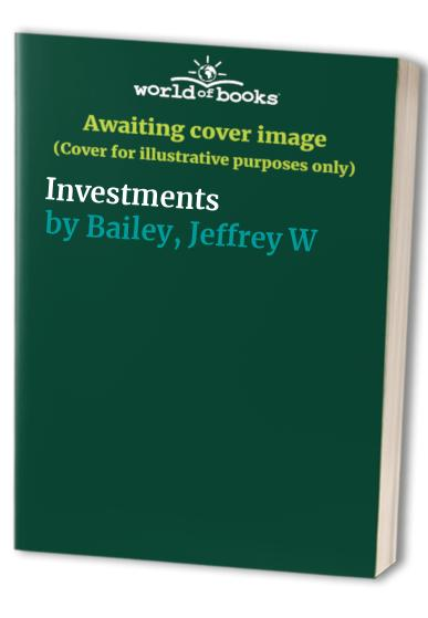 Investments By William Sharpe