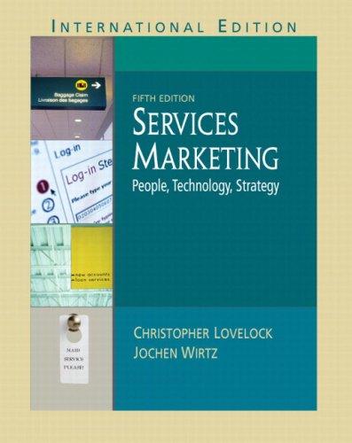 Services Marketing By Jochen Wirtz