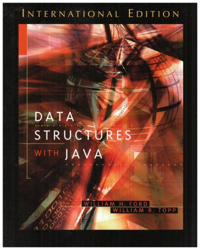 Data Structures with Java By William H. Ford