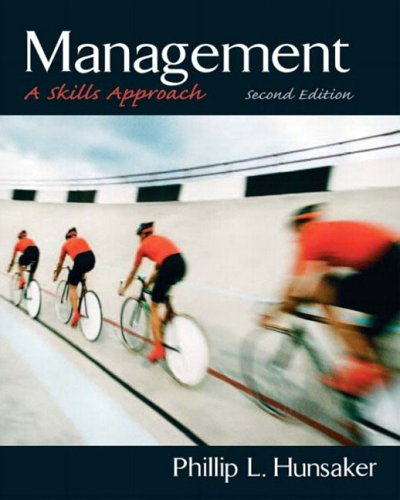 Management By Phillip L. Hunsaker