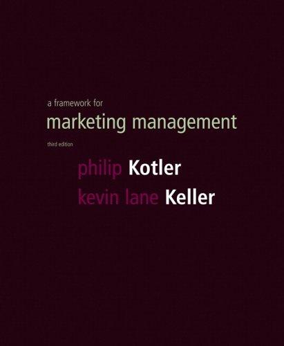 Framework for Marketing Management By Philip T. Kotler