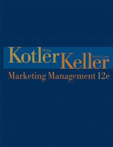 Marketing Management By Philip T. Kotler