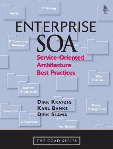Enterprise SOA By Dirk Krafzig