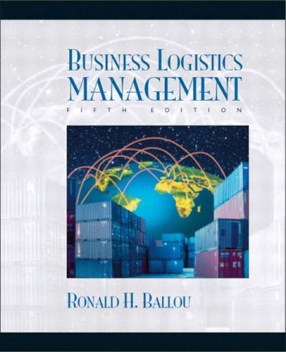 Business Logistics/Supply Chain Management and Logware CD Package By Ronald H. Ballou