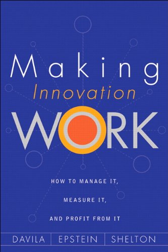 Making Innovation Work By Marc J. Epstein