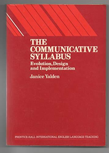 Communicative Syllabus By Janice Yalden