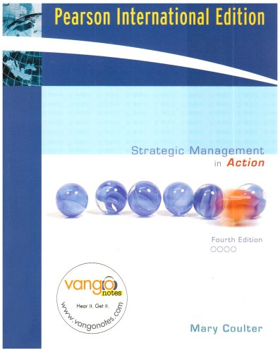 Strategic Management in Action By Mary A. Coulter
