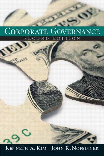 corporate governance by john r  nofsinger