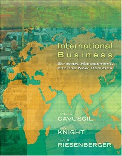 International Business By Tamer Cavusgil