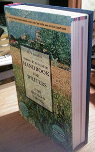 Simon&Shuster Handbook Updt Ml By Lynn Quitman Troyka
