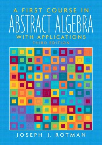 abstract algebra notes