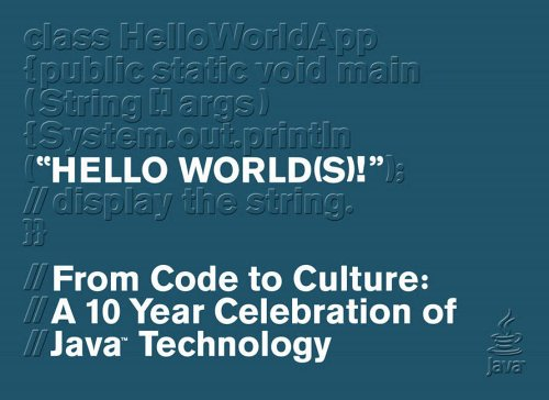 Hello World(s) -- From Code to Culture By Sun Microsystems