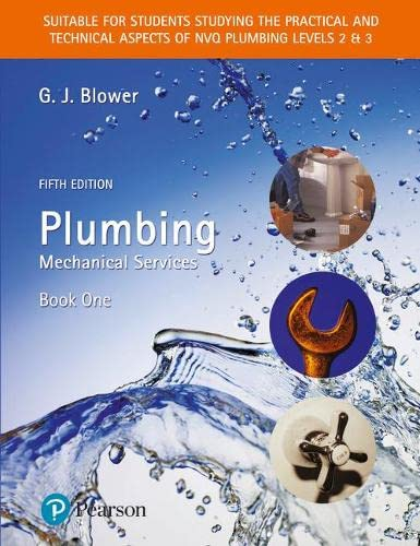 Plumbing Book One By Edited by G. J. Blower