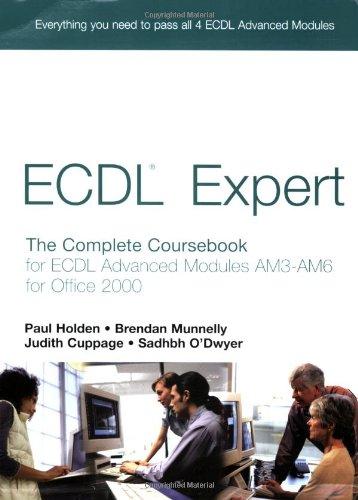 ECDL Expert (Holden) By Brendan Munnelly