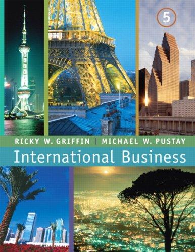 International Business By Michael W. Pustay