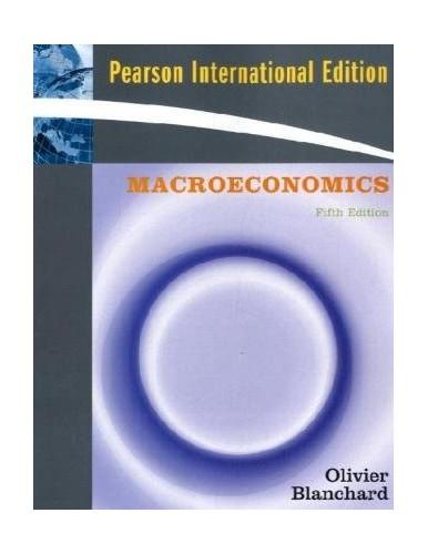 Macroeconomics By Olivier Blanchard
