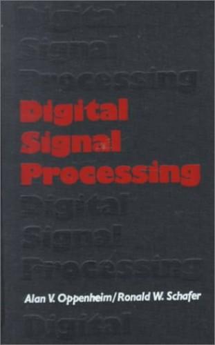 Digital Signal Processing by Alan V. Oppenheim