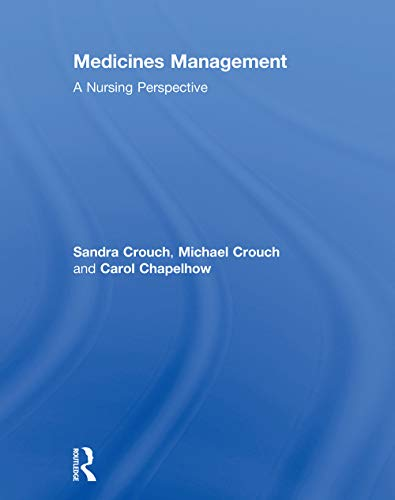 Medicines Management By Sandra Crouch