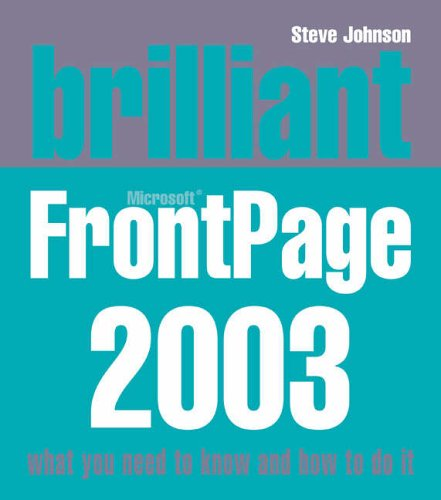 Brilliant Frontpage 2003 By Steve Johnson
