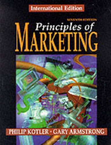 Principles of Marketing By Philip Kotler