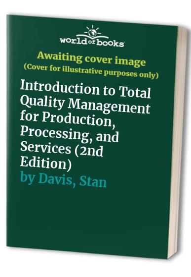 Introduction to Total Quality By David L. Goetsch